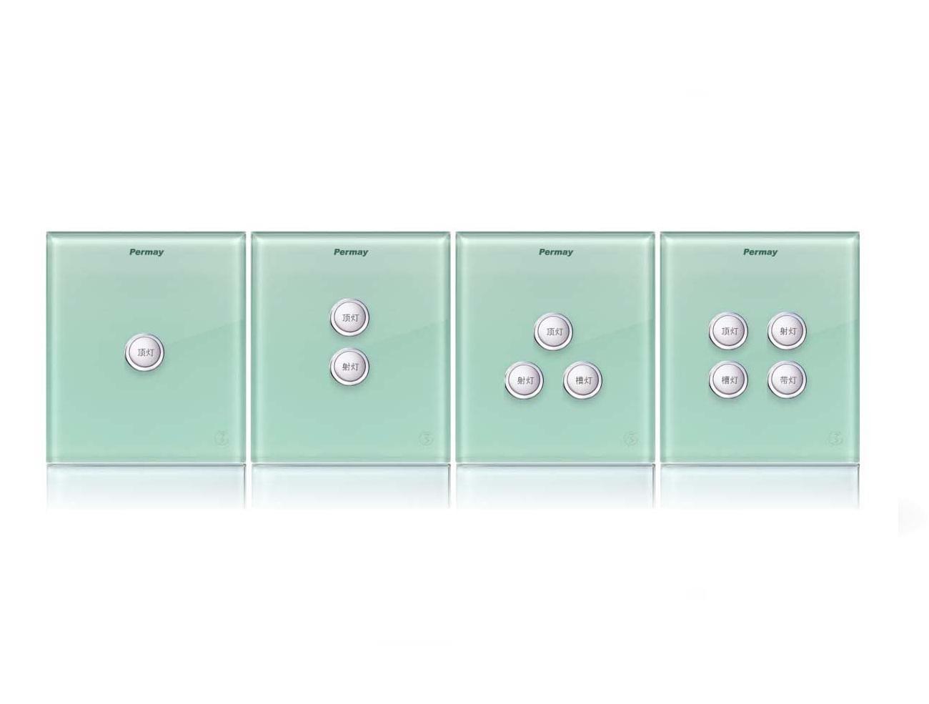 Công tắc thông minh điều khiển ánh sáng Permay 1-4 - M-PLISB001
