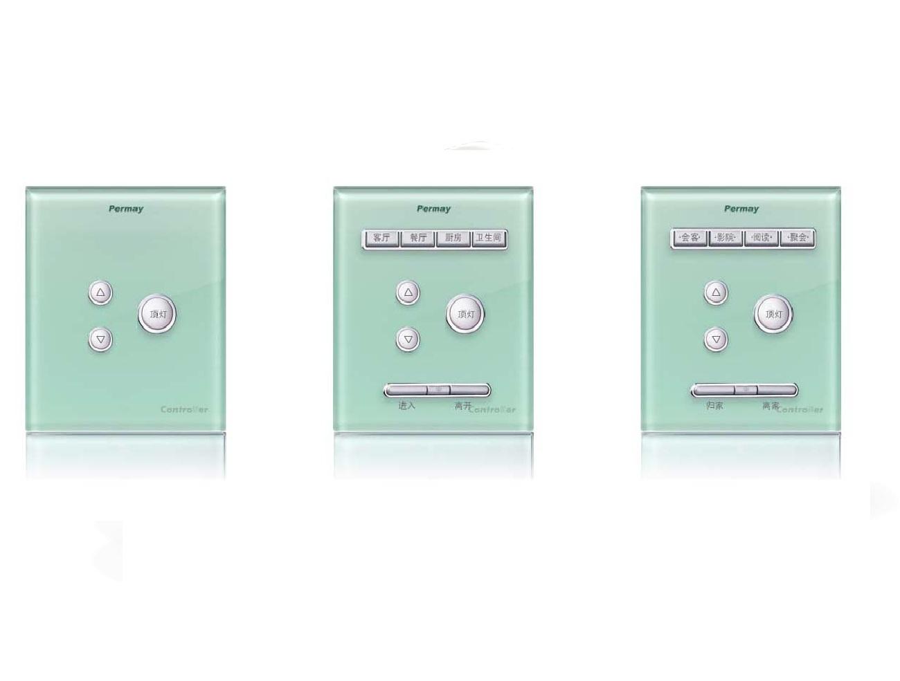 Công tác thông minh điều khiển ánh sáng kiểu Dimmer -  PM-PLISB005