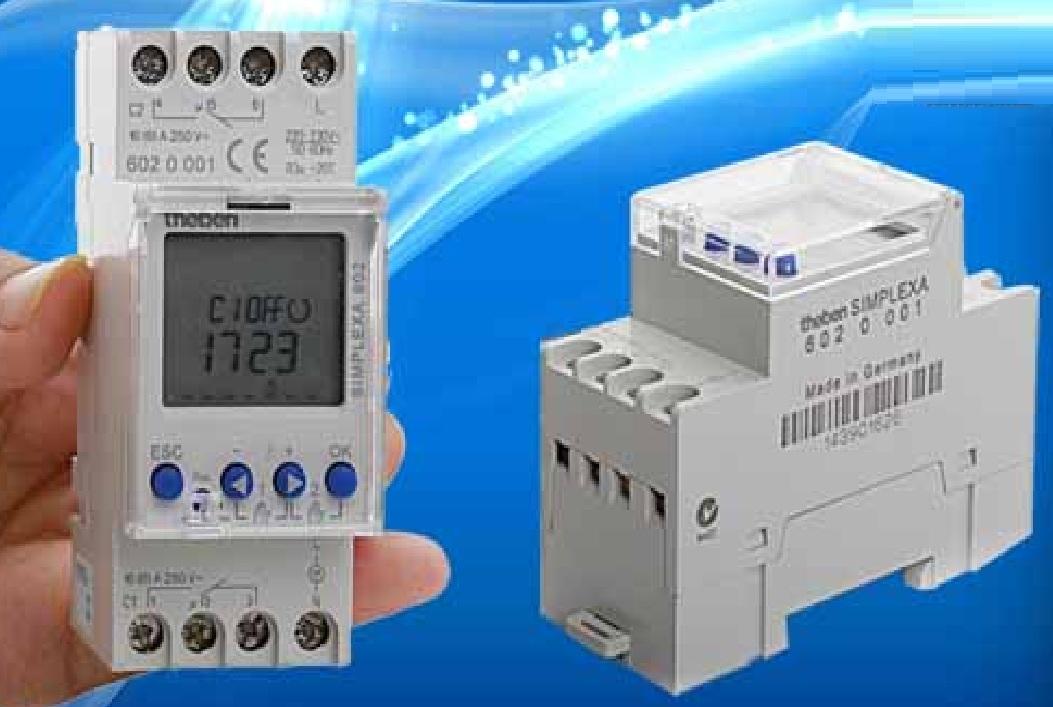 Công tắc thời gian kỹ thuật số SIMPLEXA 602