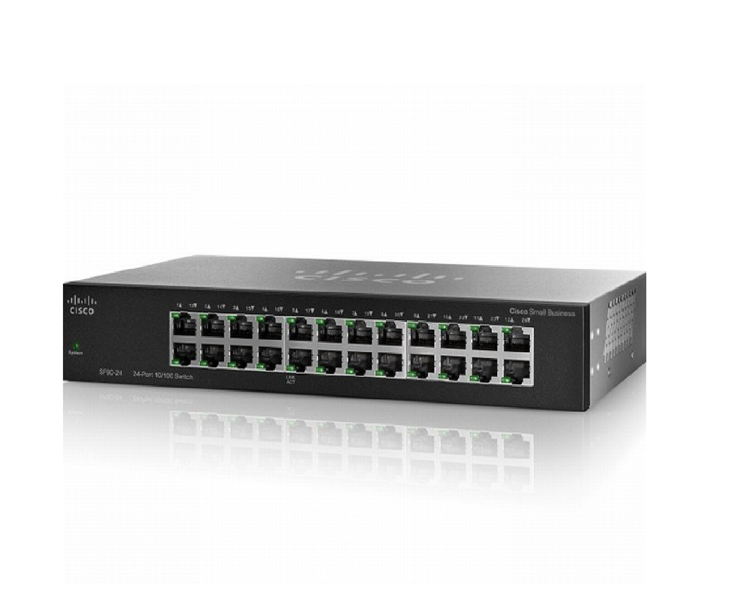 Switch Cisco SF95-24 - 24-port Fast Etherne
