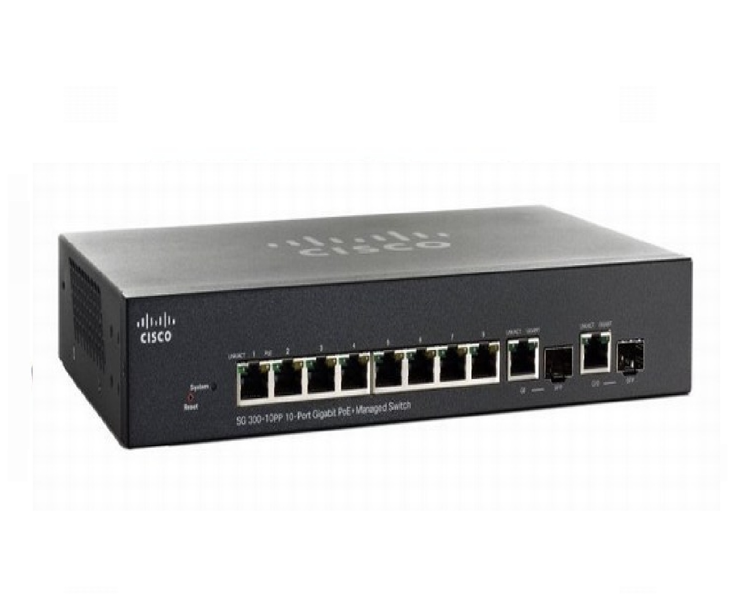 Switch CISCO SG300-10PP-10-port Gigabit PoE Managed